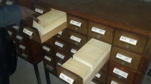 Catalogue manuel/Gabon.Bibliothèque nationale